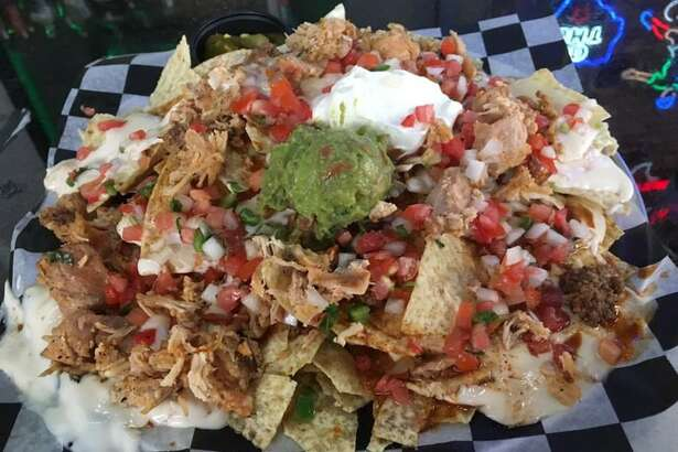 The Alamodome Nachos at Maddy McMurphy's Irish Sports Bar.