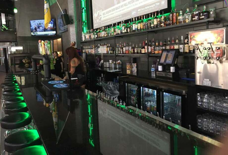 The bar and kitchen space at Maddy McMurphy's Irish Sports Bar. Photo: Chuck Blount /Staff