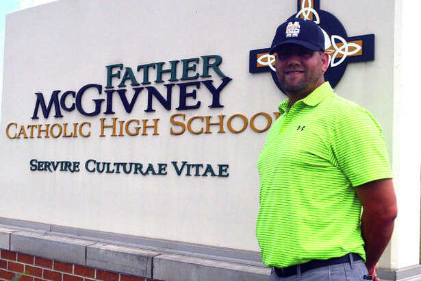 Chris Erwin is the new baseball coach at Father McGivney. He takes over for Paul Johnes, who guided the Griffins a 4-15 record during the inaugural season this spring.