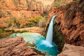 PICTURED: Havasu Falls, Supai, AZ