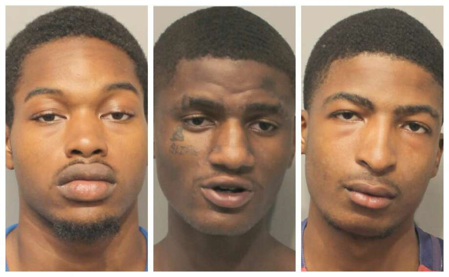 Five male suspects have been charged with felony theft after allegedly stealing more than $4,400 from Six Flags Hurricane Harbor Splashtown visitors. Photo: Harris County Constable Precinct 4