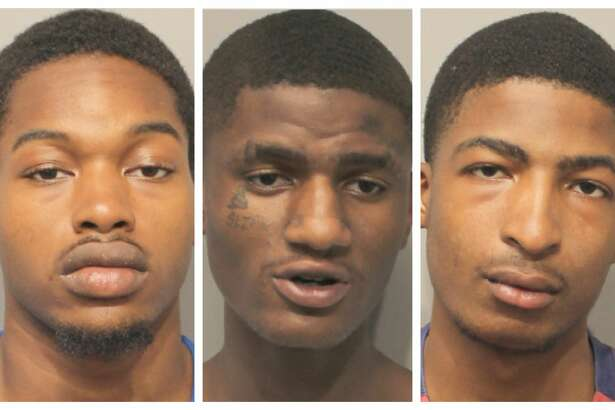 Five male suspects have been charged with felony theft after allegedly stealing more than $4,400 from Six Flags Hurricane Harbor Splashtown visitors.