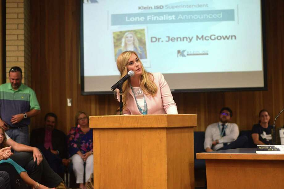 Jenny McGown was selected by the Klein ISD board of trustees as the new superintendent on June 6, 2019. Photo: Chevall Pryce