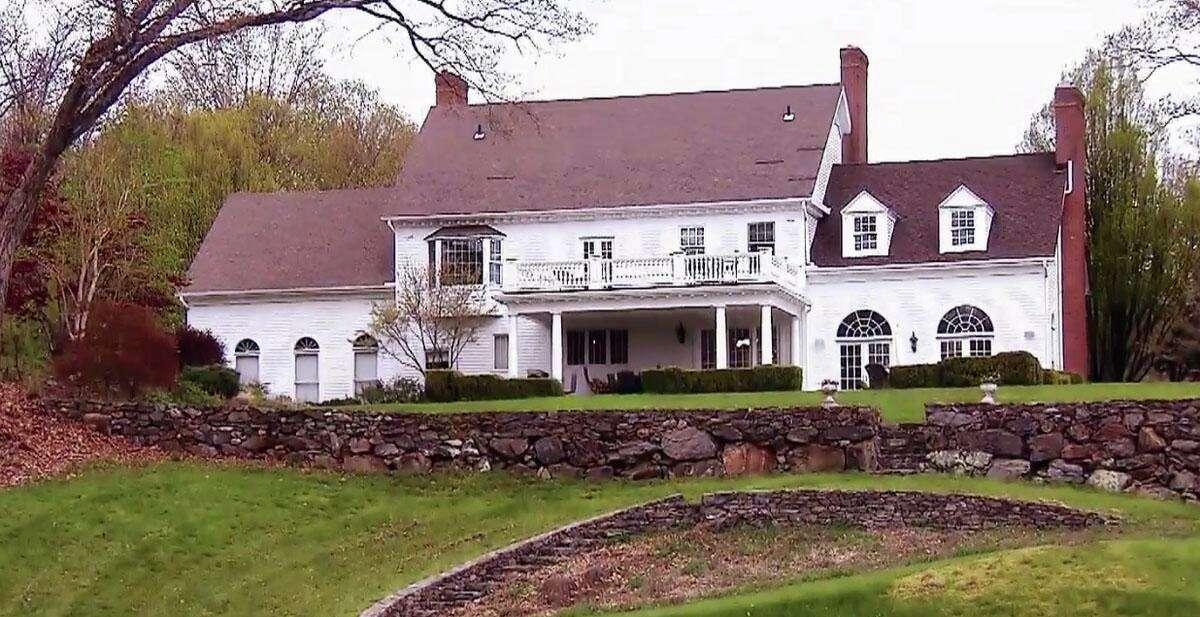 Frederik Eklund and Derek Kaplan bought an eight-acre estate in Roxbury to house their twins Milla and Fredrik Jr.