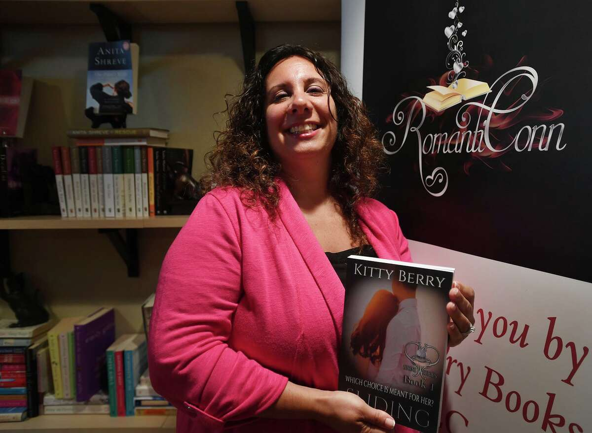 Romance novelist Kitty Berry, of Trumbull, has organized the first RomantiConn romance novel convention at the Trumbull Marriott on August 3. The event will feature sixty authors.
