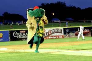 The gig once paid only $12 . Talk about your taco money. In 1990, the Puffy Taco earned a mere $12 per game. Today, a Puffy Taco performer gets $100 per game.