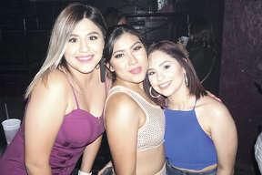 Yelithza Tijerina, Itzel Rodriguez and Gio Torres at Club Vibe