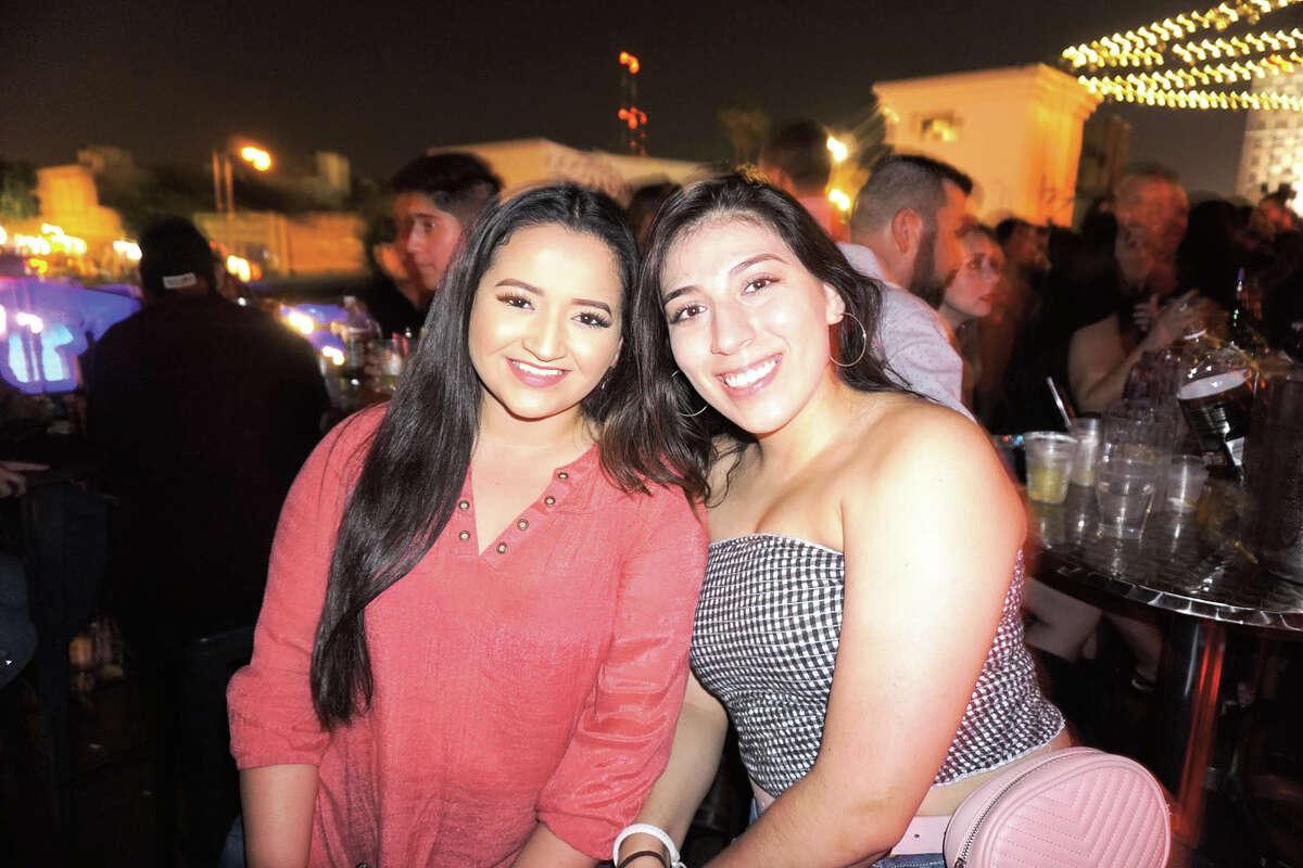 Daffanie Hernandez and Desiree Lobo at Siete Banderas