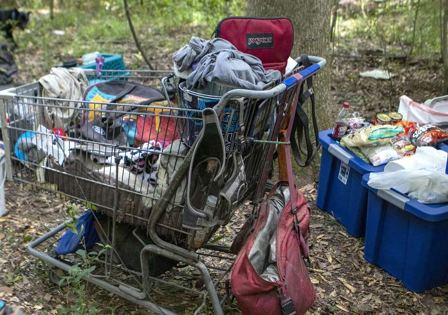 Olympia is launching a new program to clean up unauthorized camps. Keep clicking for more information on homelessness in Seattle. Photo: Cody Bahn, Staff Photographer