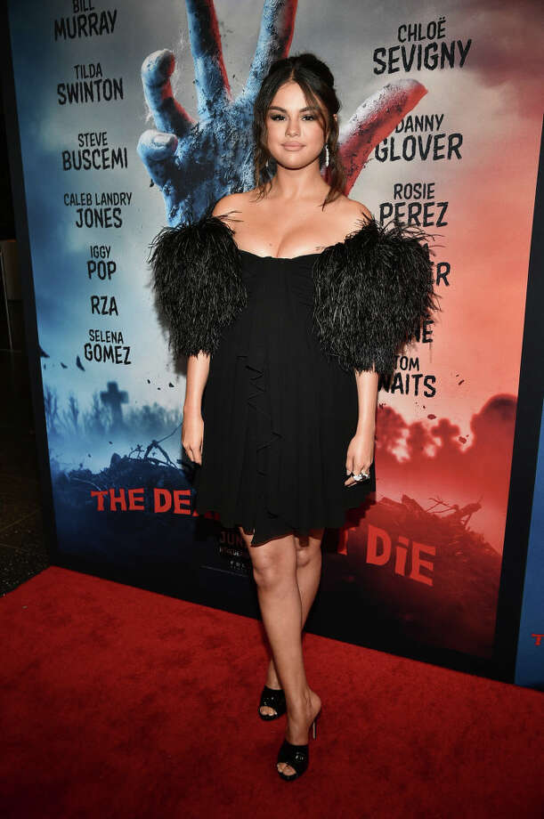 """NEW YORK, NEW YORK - JUNE 10:  Selena Gomez attends """"The Dead Don't Die"""" New York Premiere at Museum of Modern Art on June 10, 2019 in New York City. (Photo by Theo Wargo/Getty Images) Photo: Theo Wargo/Getty Images, Getty Images / 2019 Getty Images"""