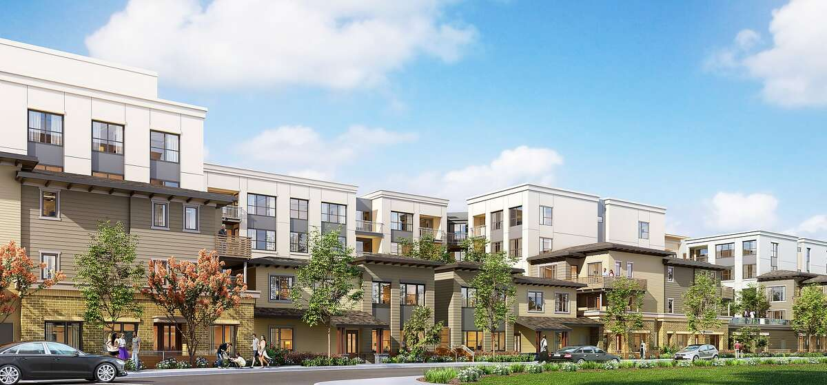 A rendering of Signature Development Group's Mills Park Development.