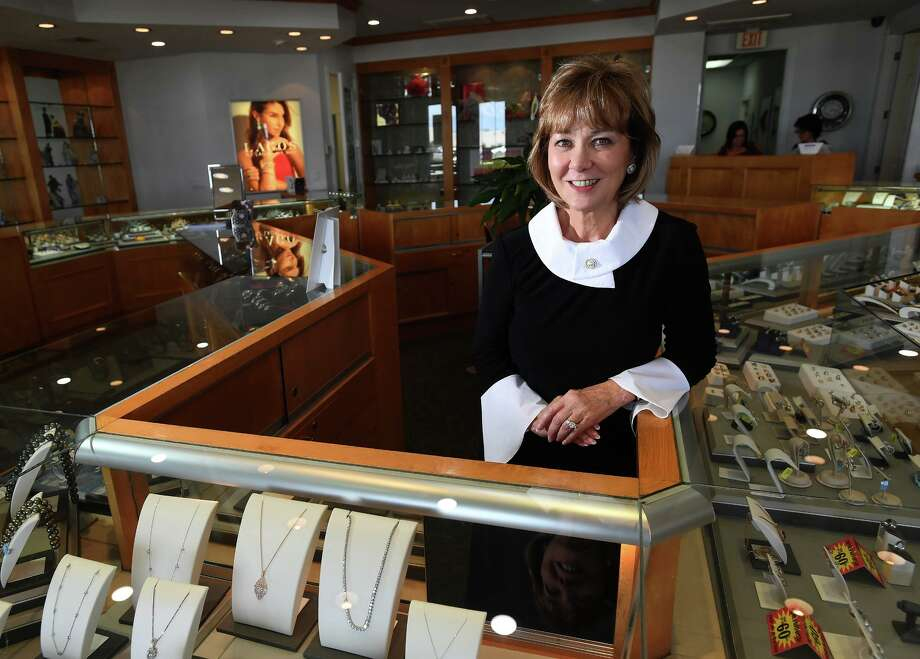 With nearly 30 years in the jewelry business, Nederland Jewelers' owner Gladys Wojcik plans to retire. Wojcik at the Nederland store on Friday. Photo taken Friday, 7/12/19 Photo: Guiseppe Barranco/The Enterprise, Photo Editor / Guiseppe Barranco ©