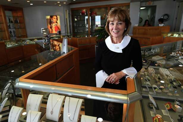 With nearly 30 years in the jewelry business, Nederland Jewelers' owner Gladys Wojcik plans to retire. Wojcik at the Nederland store on Friday. Photo taken Friday, 7/12/19