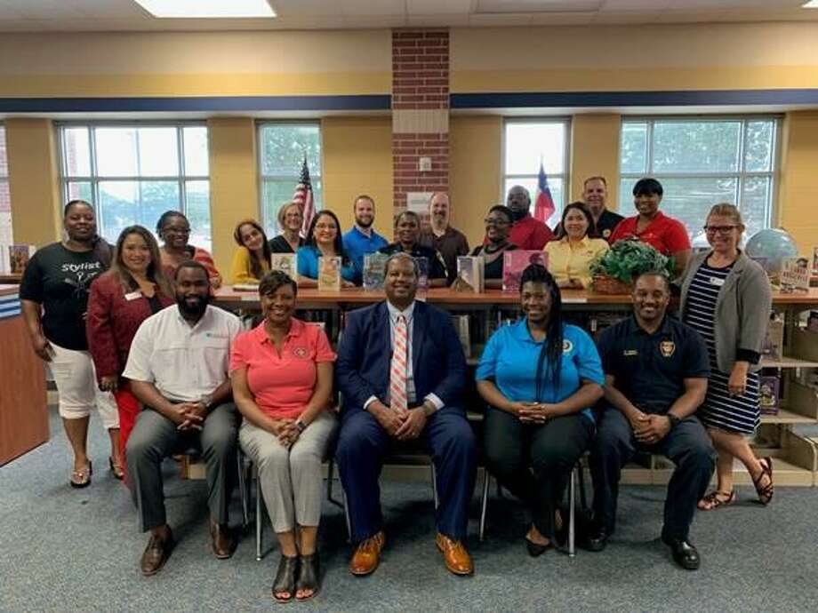 The 2019 Back-to-School Health Fair committee members, partners and staff are prepared to host another successful event. Photo courtesy: City of Missouri City