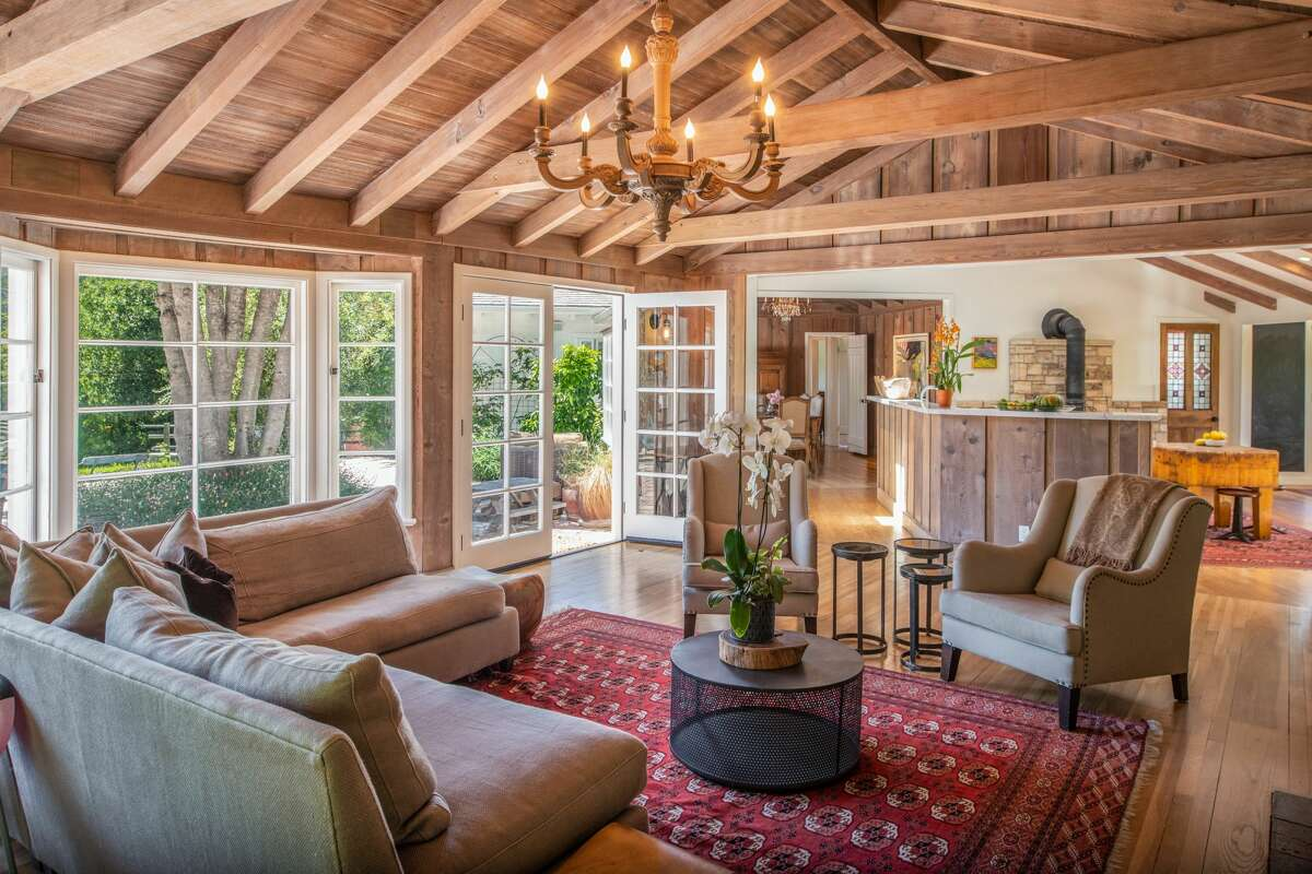 Once Carmel Valley's Egg Farm, this 8.5 acre+ property is a working ranch and compound, asking $4.250M