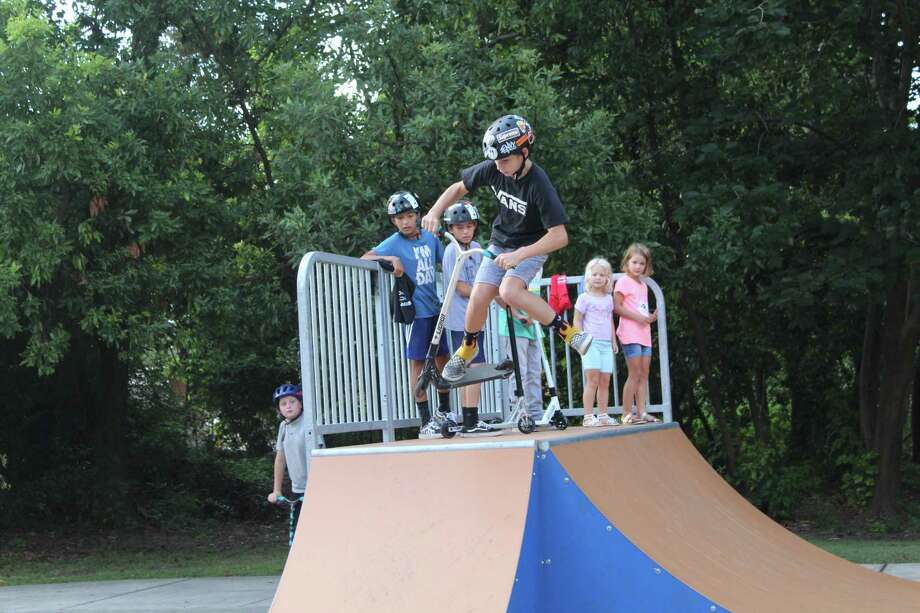 Residents enjoy renovations at Kingwood's Dylan Duncan Memorial Skate Park