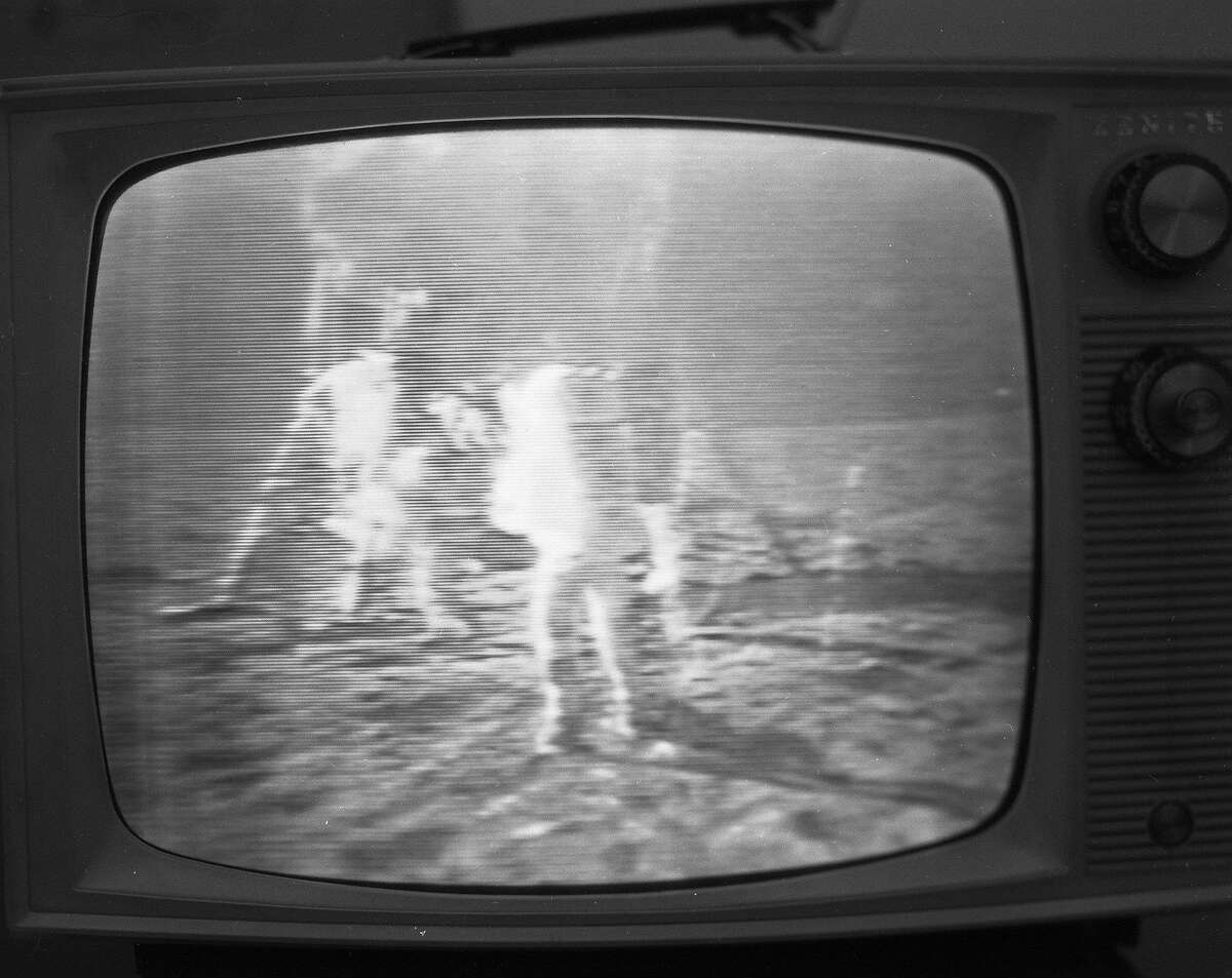The moon landing was must see TV, on July 20, 1969