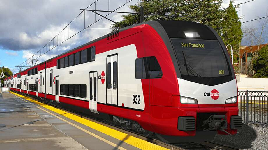 The new Caltrain cars feature doors raised 4-feet above the ground. If you were wondering what these floating doors were for, you are not alone. Photo: San Francisco County Transportation Authority