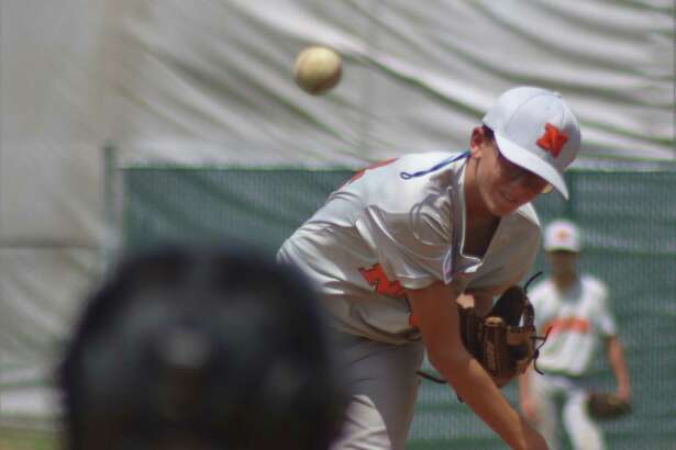 Pitcher Aidan Broussard ignored the hot conditions to give NASA-Orange nearly seven solid innings in scattering five hits, all singles Friday.