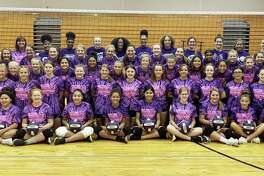Volleyball campers from seventh to ninth grade learned the fundamentals of the game and received one on one coaching from the staff at Dayton ISD.