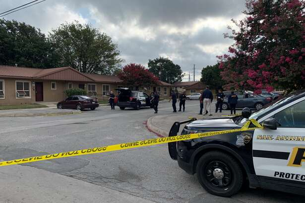Three people were hospitalized after a shooting Saturday morning on the near West Side, Saturday July 20, 2019, according to the San Antonio police.