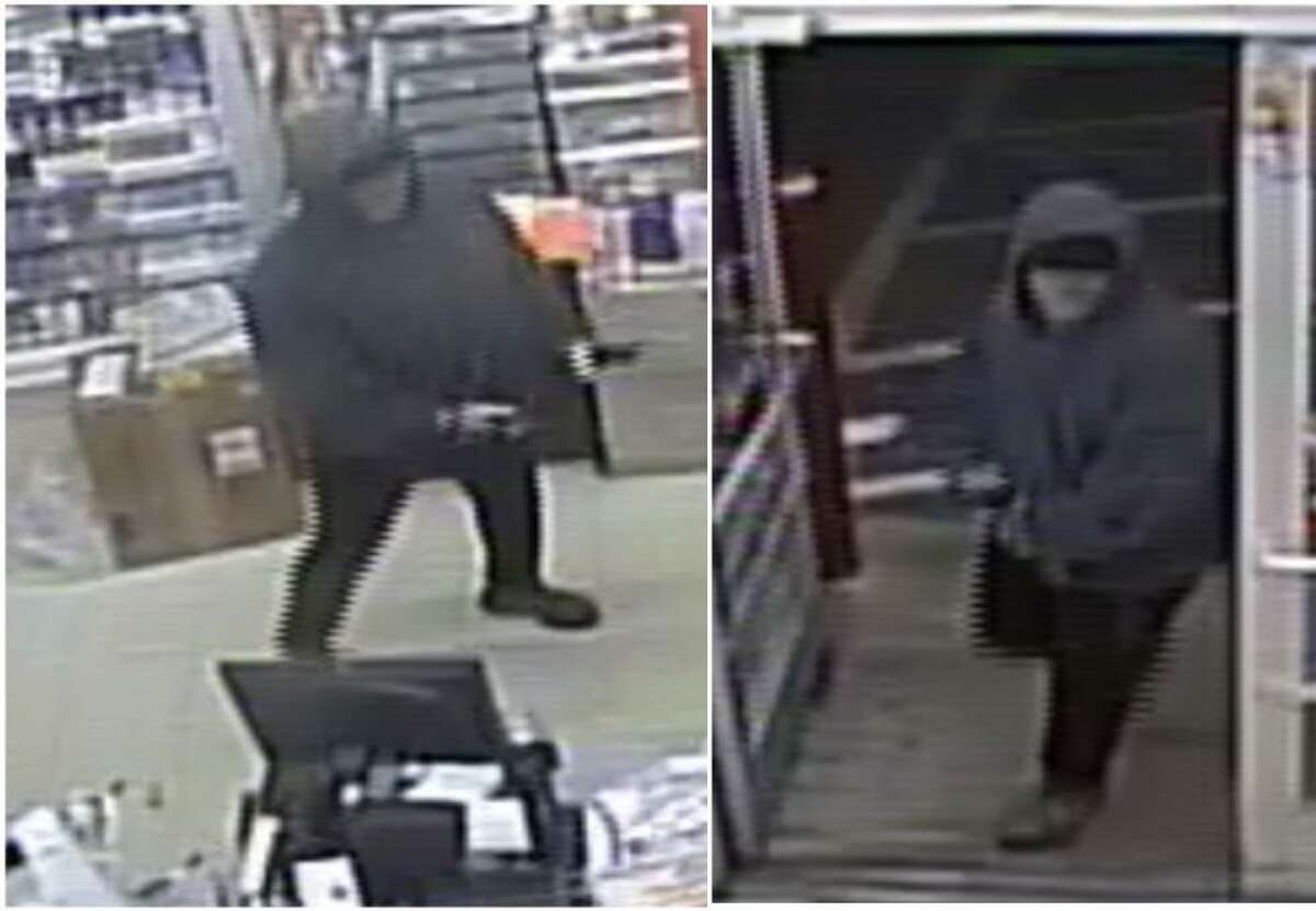 Laredo police said this man is wanted in connection with an armed robbery at a local convenience store. To report his identity, call police at 795-2800 or Laredo Crime Stoppers at 727-TIPS (877).
