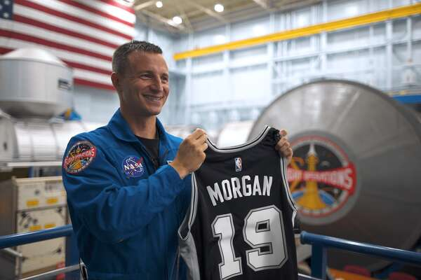 On July 20, 2019, the 50th anniversary of the Apollo 11 mission, a San Antonio Spurs jersey will be making its way to outer space for the first time ever, in the hands of NASA Astronaut Lt. Col. Andrew Morgan.