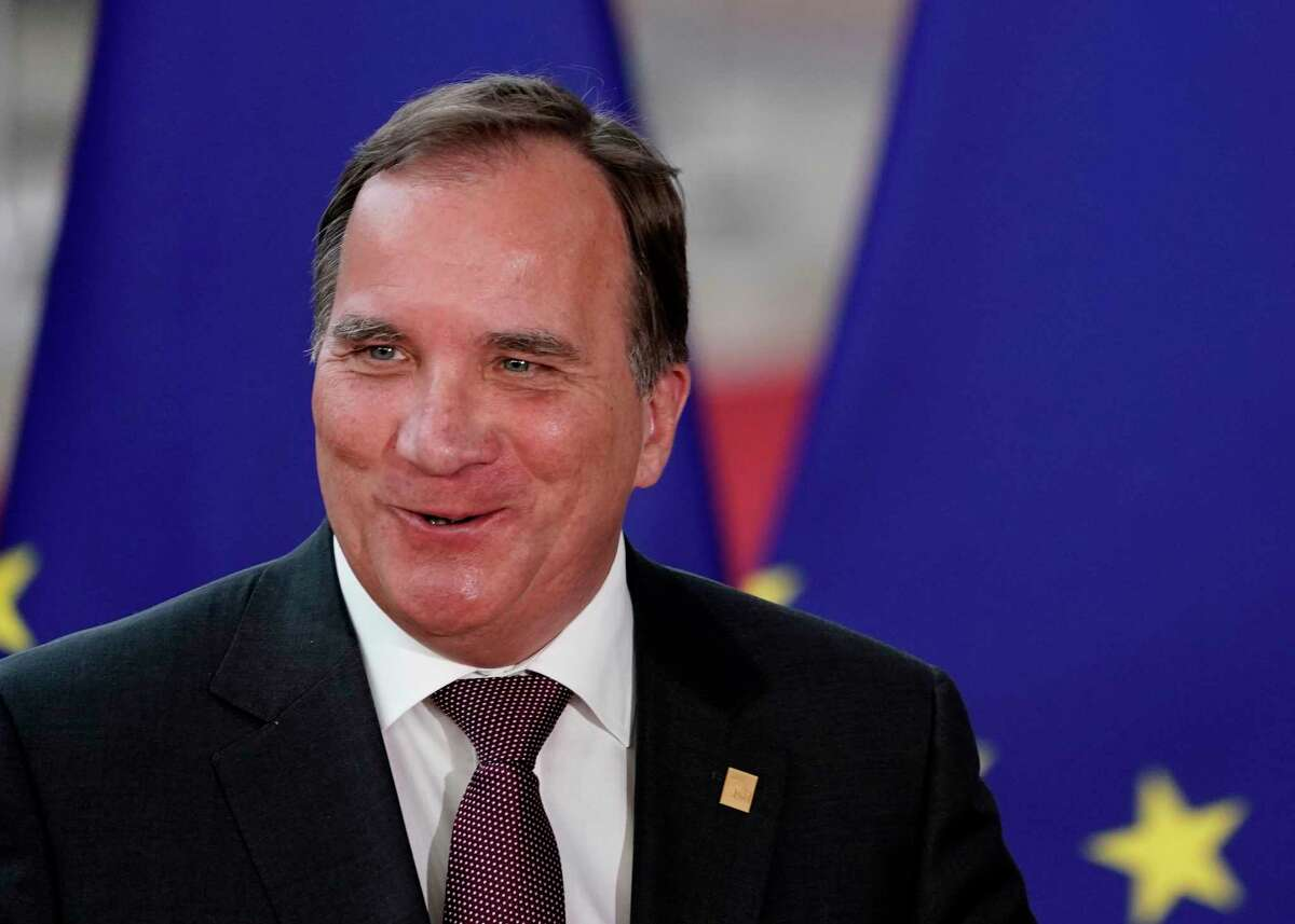 Sweden's Prime Minister Stefan Lofven arrives for an European Council Summit at The Europa Building in Brussels, on June 30, 2019. - Deadlocked EU leaders meet for a rare weekend summit seeking to fill senior European positions and settle a battle that has split key allies France and Germany. (Photo by Kenzo TRIBOUILLARD / AFP)KENZO TRIBOUILLARD/AFP/Getty Images