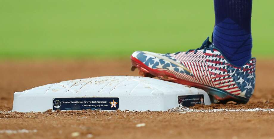 PHOTOS: Astros game-by-game The bases were dedicated to Apollo 11 during the MLB baseball game at Minute Maid Park Saturday, July 20, 2019, in Houston. Browse through the photos to see how the Astros have fared in each game this season. Photo: Steve Gonzales/Staff Photographer