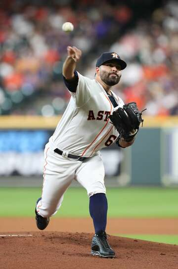 Jose Urquidy remains on Astros' roster after Aledmys Diaz returns -  HoustonChronicle.com