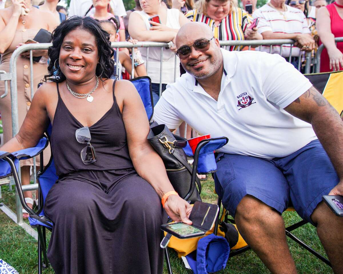 Lisa Lisa performed at the annual Free Concerts on the Green in New Haven on July 20, 2019. Were you SEEN?