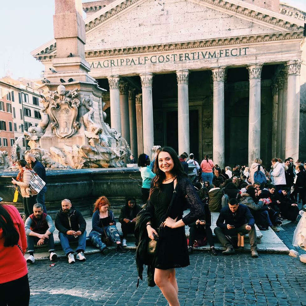 2. I'm really proud of my Italian heritage and was lucky to visit Italy twice.