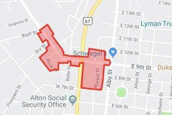 A boil order is in effect for parts of Alton following a water main break Saturday afternoon.