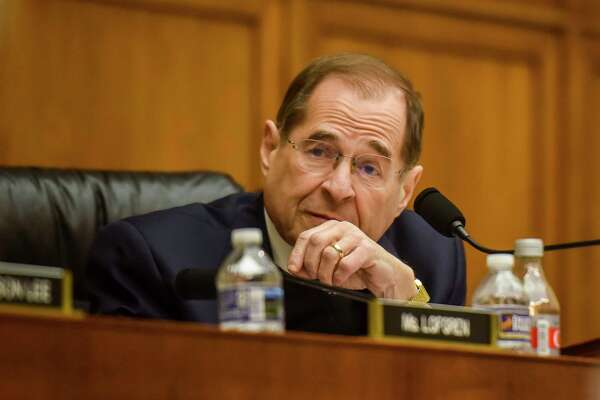 House Judiciary Committee Chairman Rep. Jerrold Nadler, D-N.Y., oversees a hearing in March 2019.