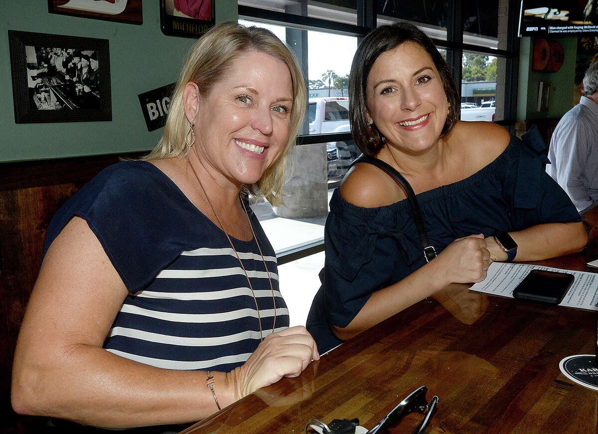Customers socialize and enjoy the atmosphere at Little Woodrow's, one of Beaumont's newest establishments. Photo taken Thursday, July 18, 2019 Kim Brent/The Enterprise