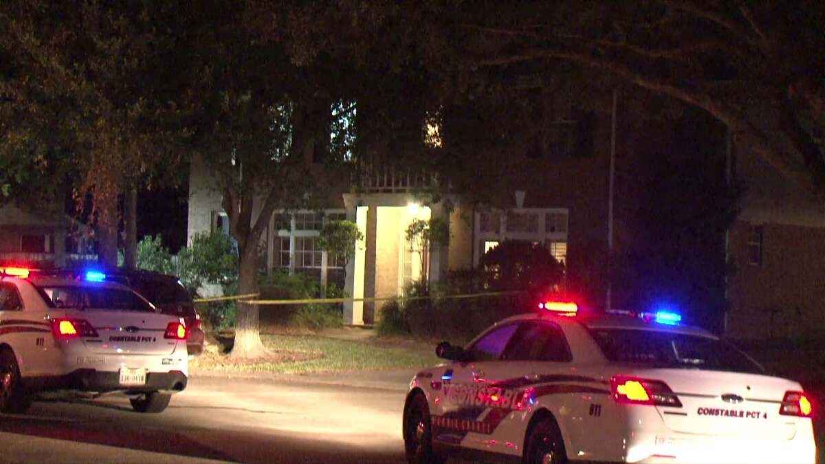 A 22-year-old man fatally shot himself by accident at a barbecue in northwest Houston on Saturday evening, police said.