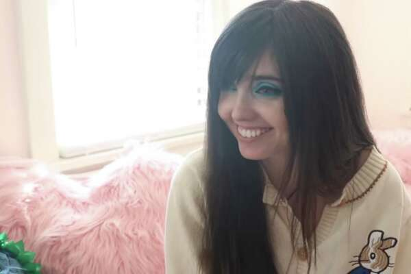 "A screenshot from ""The Return of Eugenia Cooney"" documentary, which details 24-year-old Eugenia Cooney's battle with an eating disorder."