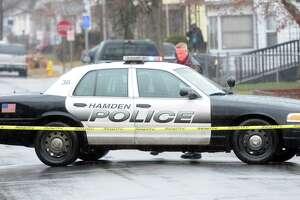 (Mara Lavitt — New Haven Register) December 29, 2013 Hamden police car.