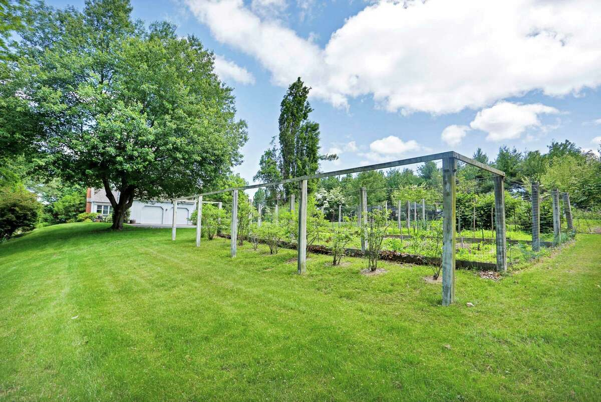 One of the owners is an avid gardener and has established beautiful perennial flower gardens, and fenced vegetable gardens.