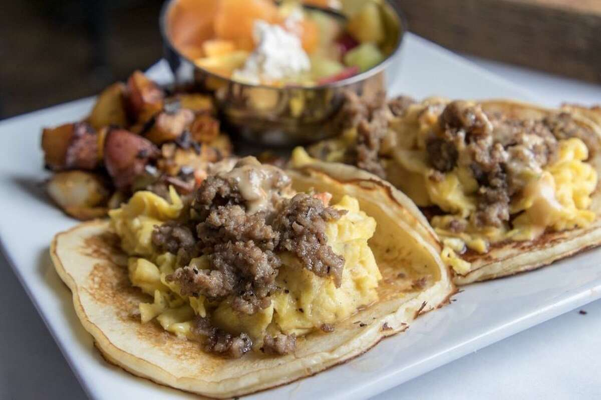 20 SPOTS TO ENJOY PANCAKES IN SAN ANTONIO, ACCORDING TO YELP 20. Sangria On the Burg 5115 Fredericksburg Rd. Photo: Melissa L./Yelp