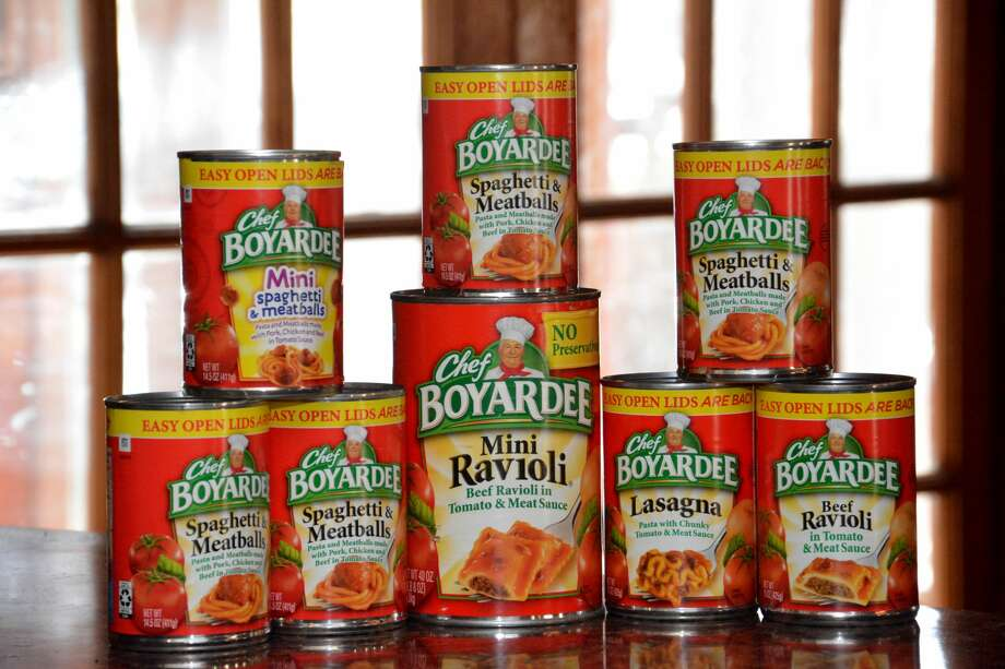 Chef Boyardee canned pasta was on the ultra-processed menu. Photo: Dorann Weber/Moment Editorial/Getty Images