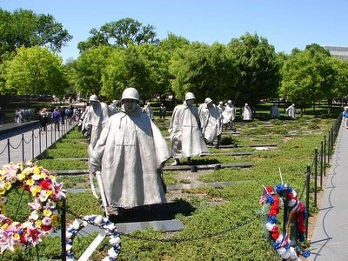 The Korean War Monument is one of many monuments veterans from the Capital Region will visit during the next Patriot Flight one-day excursion to Washington, D.C. on Oct. 5. (Lois Dysard / Patriot Flight)