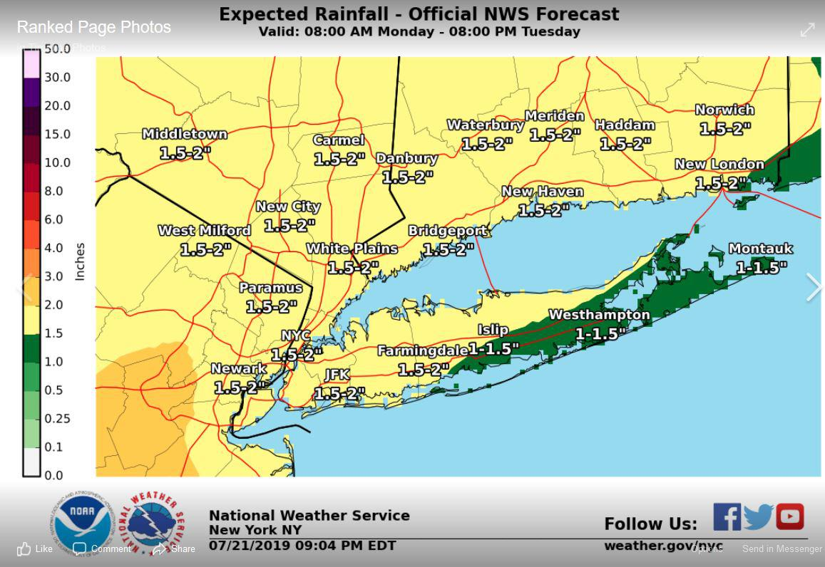 How hot did it get? T-storms, heavy rain on the way