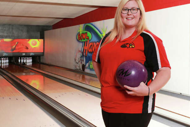 Alton High's Ashley Westbrook, The Telegraph Girls Bowler of the Year, will continue a life-long love affair with bowling at Columbia College this fall.