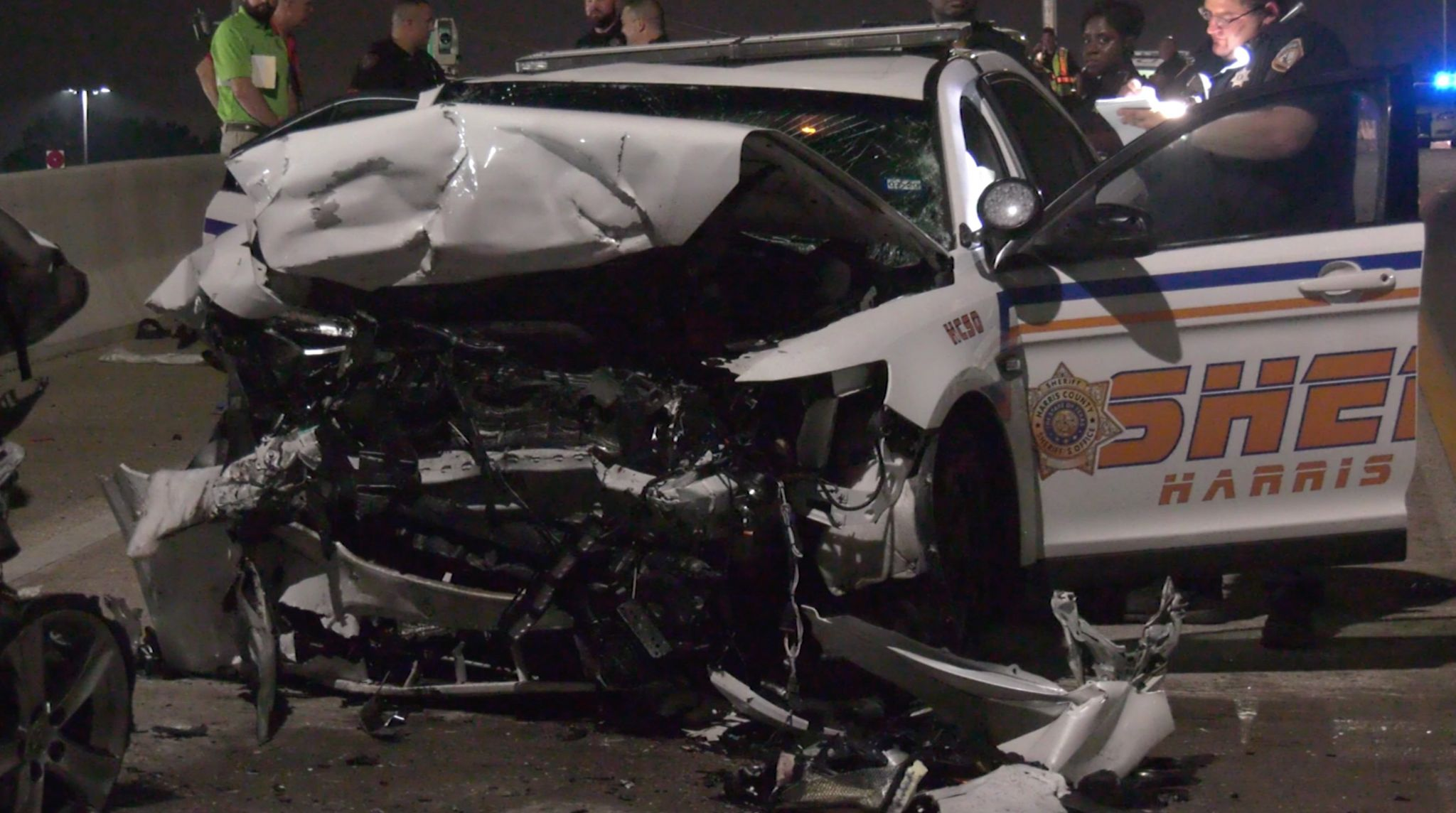 Suspect killed when drunken driver crashes into patrol car