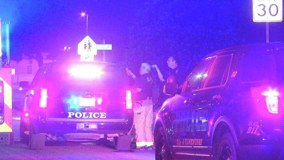 A man with felony warrants was arrested after he led authorities on a vehicle chase Sunday evening, Elmendorf police said. Photo: Ken Branca