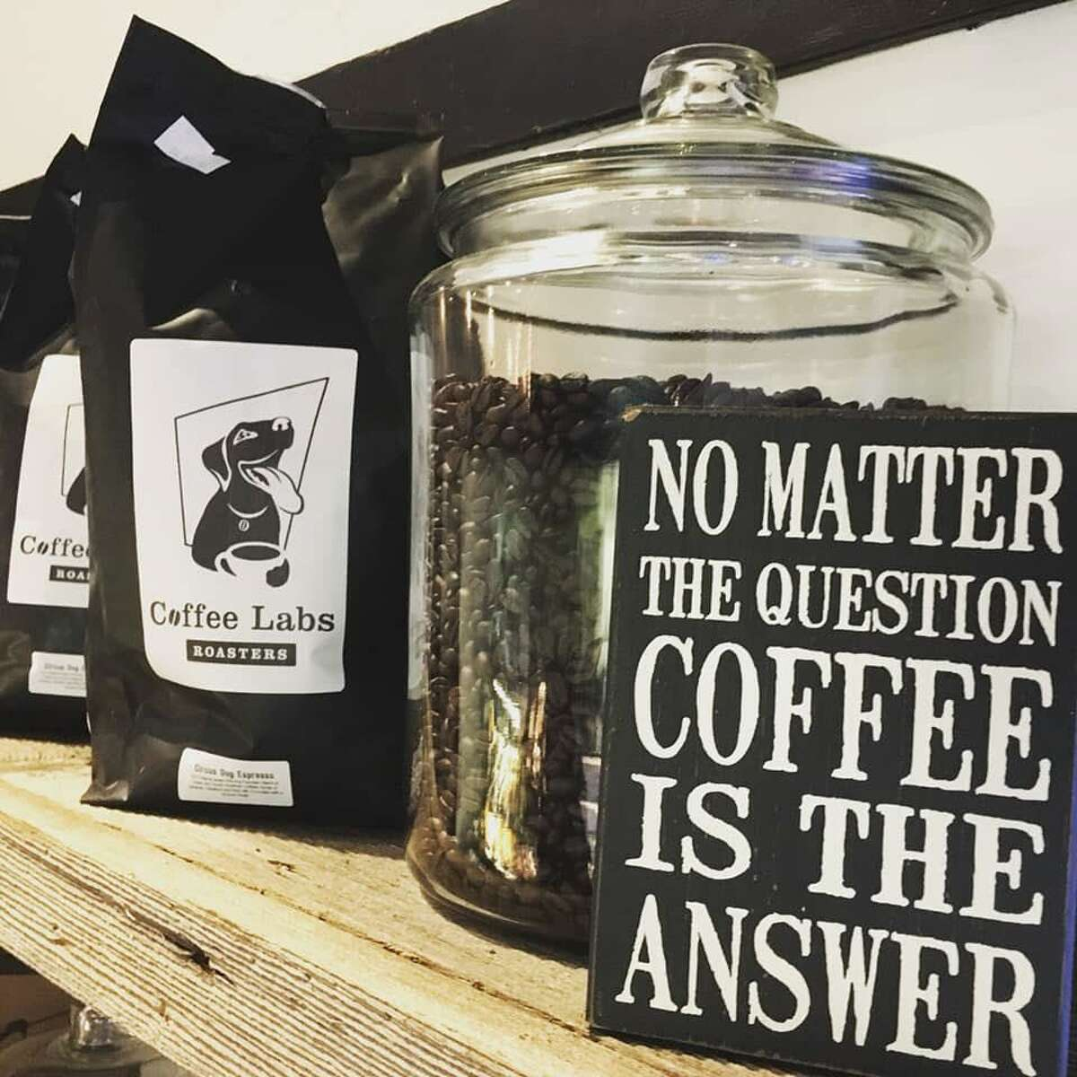 The Coffee Barn in Wilton was known for its selection of fresh roasted coffees.