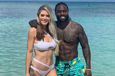 Houston Texans safety Jahleel Addae and his wife Lindsey went to the Caribbean for their honeymoon.