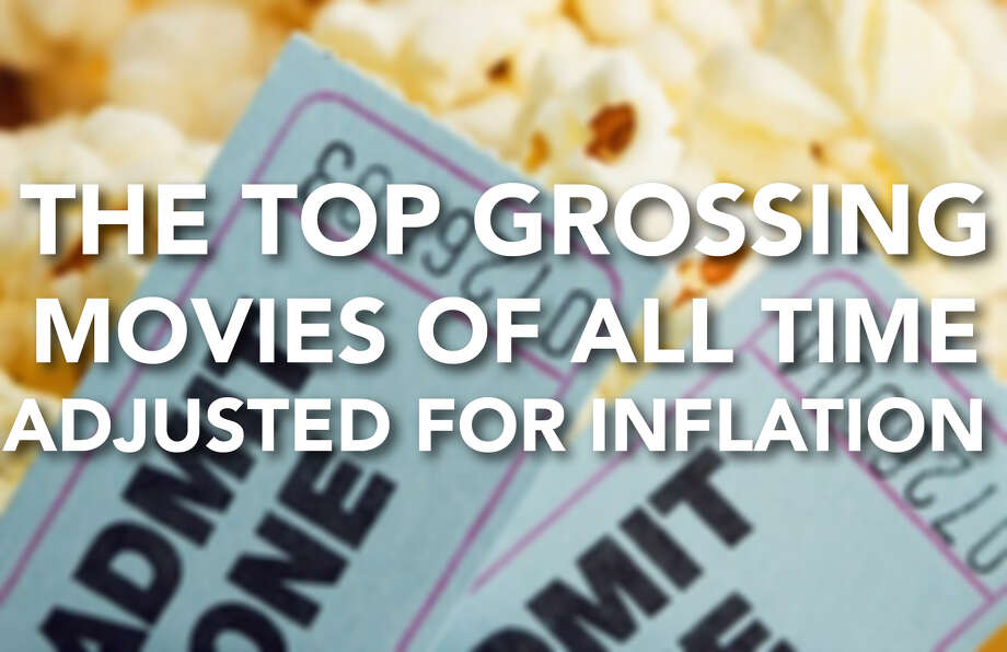 The top grossing movies of all time, adjusted for inflation, 2019. Photo: Contributed