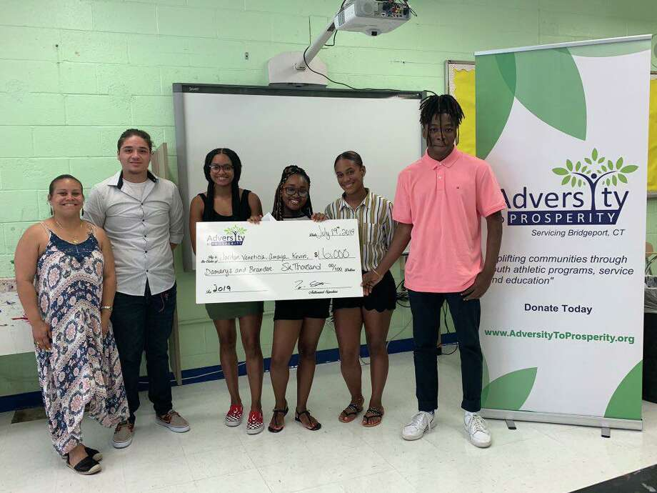 Six city students win Adversity to Prosperity scholarships Photo: Contributed
